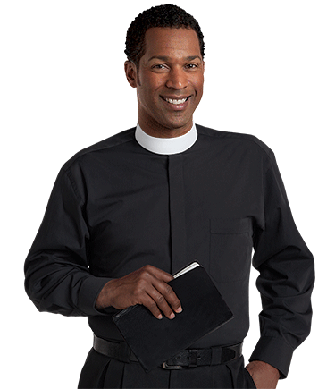 ... Banded Collar Clergy Shirt SM-107 ... 982fe402a