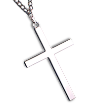 Murphy Robes Silver Cross Necklace