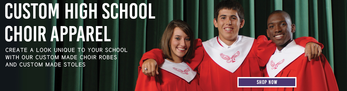 Murphy Robes Custom High School Choir Apparel