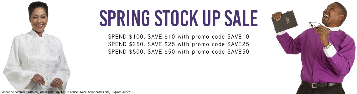 Buy More, Save More with our Spring Stock Up Sale