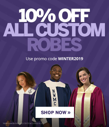 10% Off Custom Choir Apparel