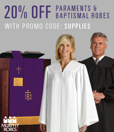 Parament and Baptismal Robes 20% off