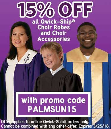 Murphy Robes 2018 Qwick-Ship Choir Sale for Easter